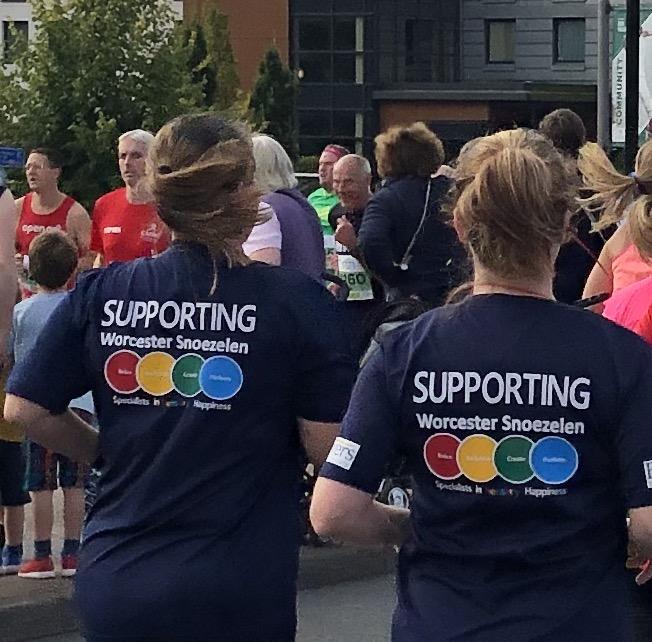 Join Team Snoezey !                                  Worcester City Run - 05/09/2021