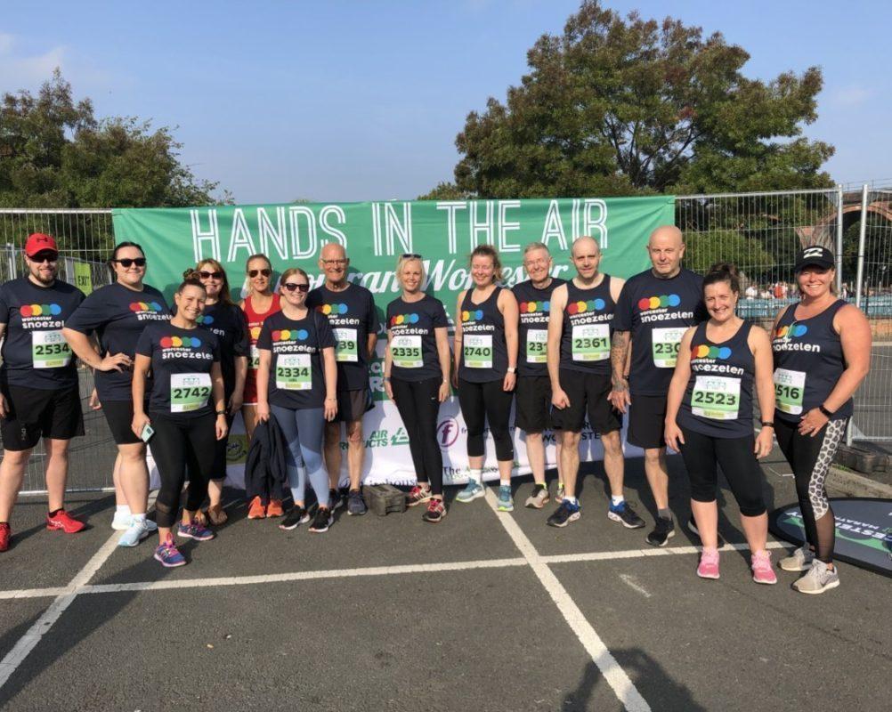 Worcester City Run – Amazing Team Snoezey!